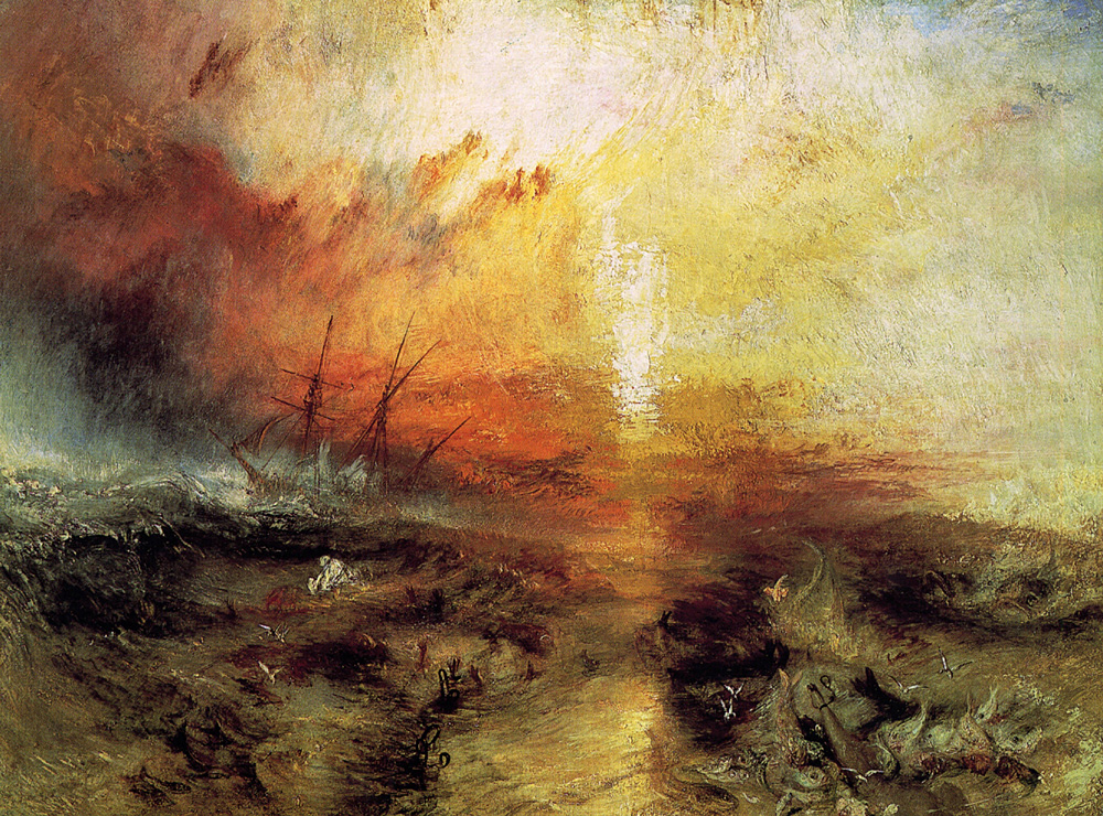 LLEGA UN TIFÓN - Joseph Mallord William Turner