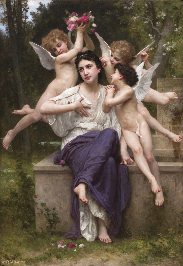 SUEÑO DE PRIMAVERA - William Adolphe Bouguereau