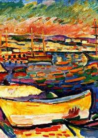 COSTA AMARILLA - Georges Braque